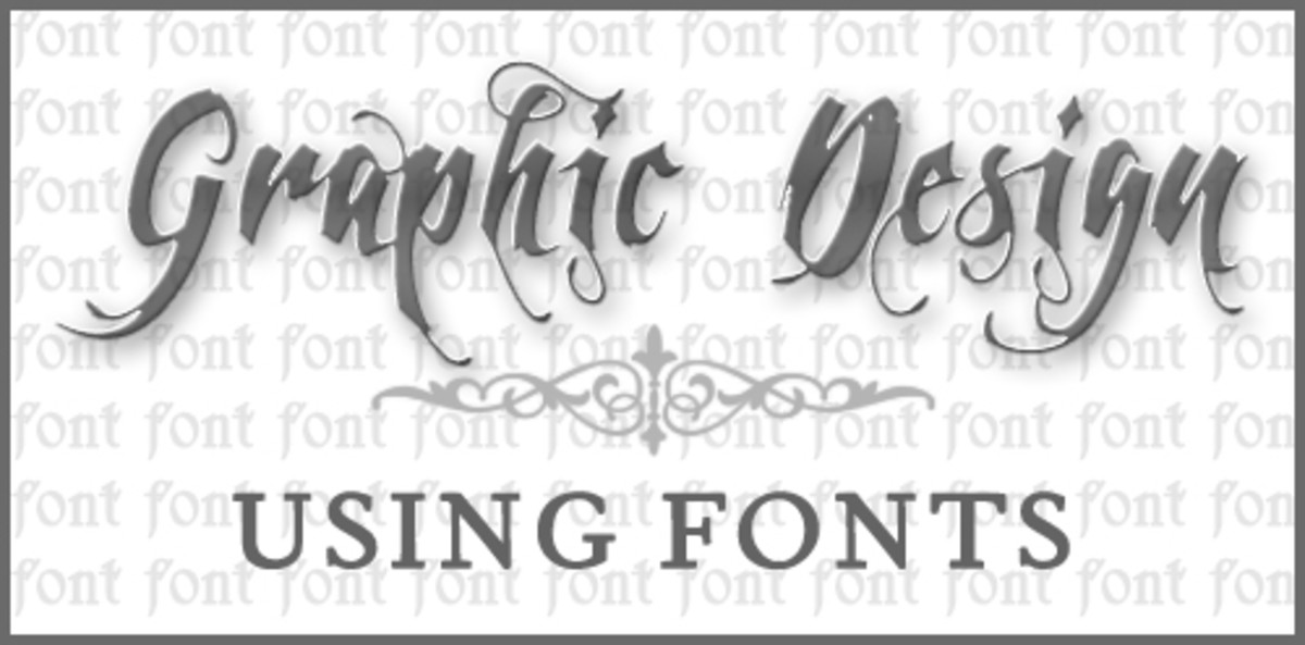 Graphic Design: Using Fonts