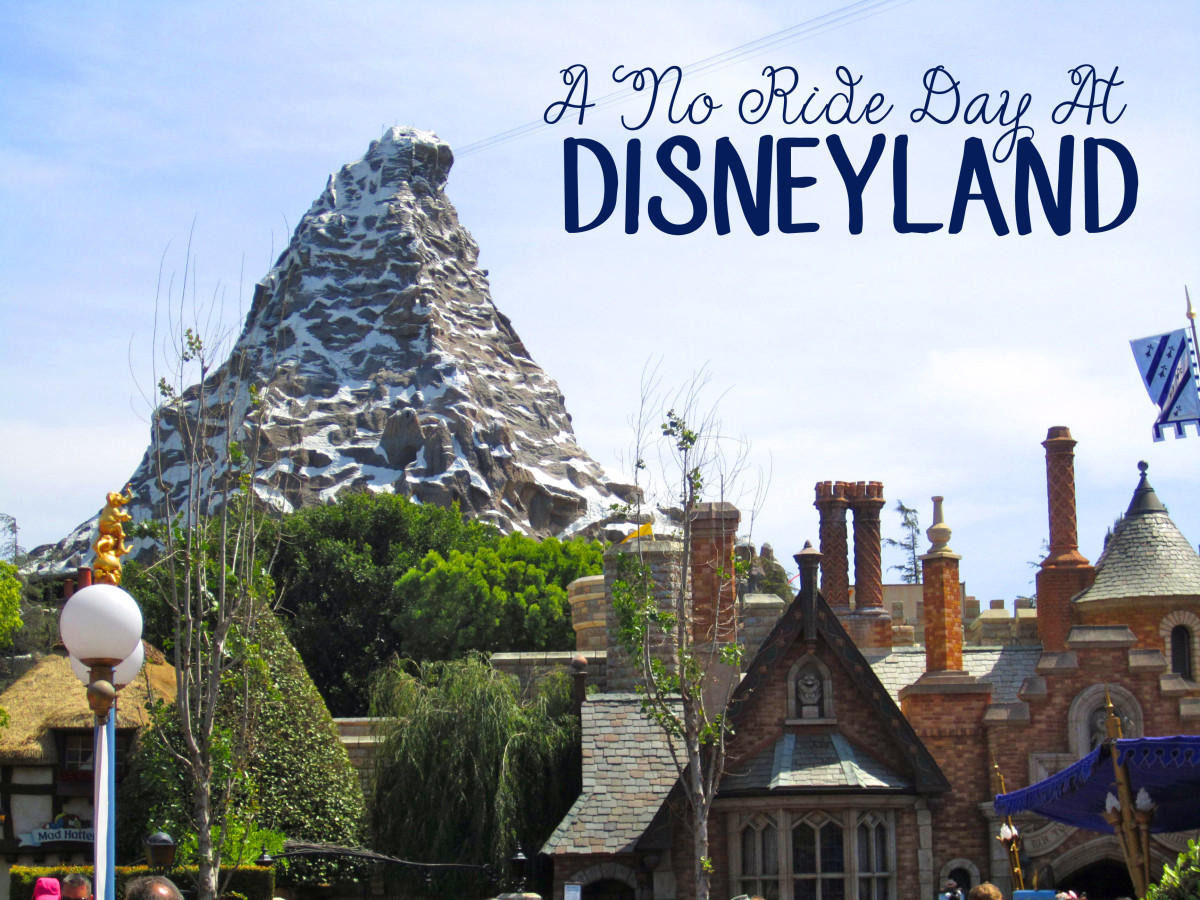 A No Ride Day At Disneyland