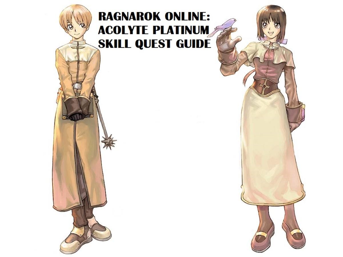 Ragnarok Online Acolyte Platinum Skill Guide