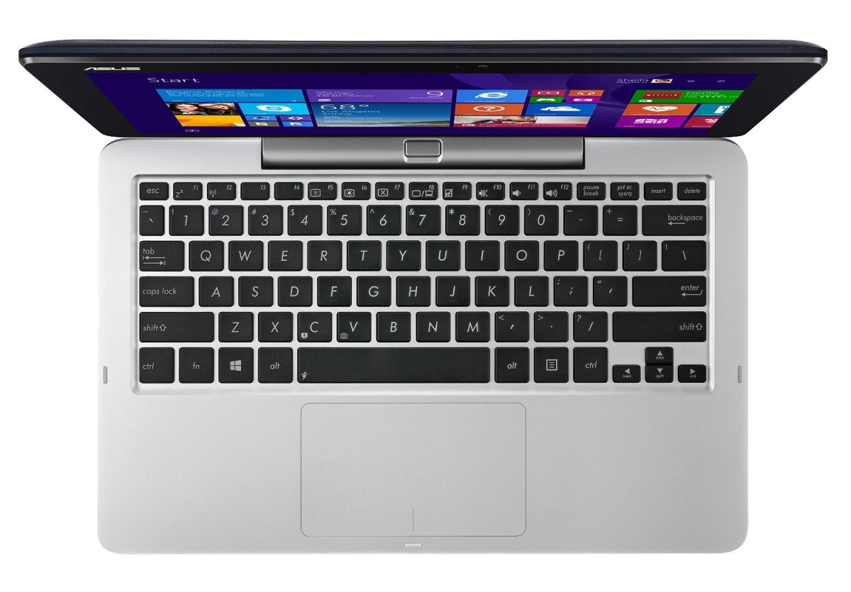 Asus T200 touchpad in the detachable keyboard