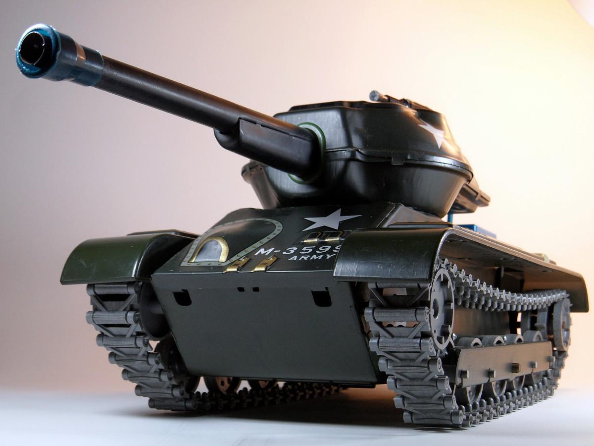 Toy Model Tank.