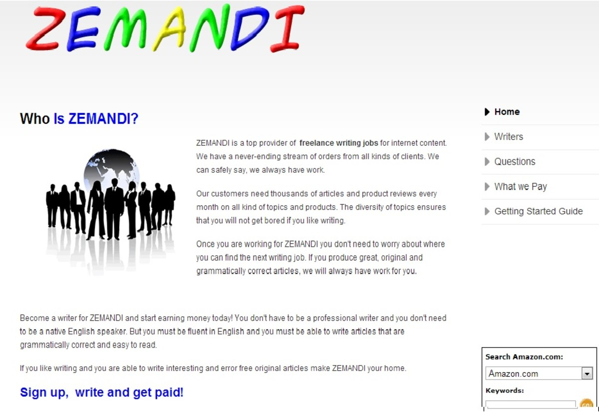 Writing for Zemandi is Not A Scam, But It's Definitely a Rip-off