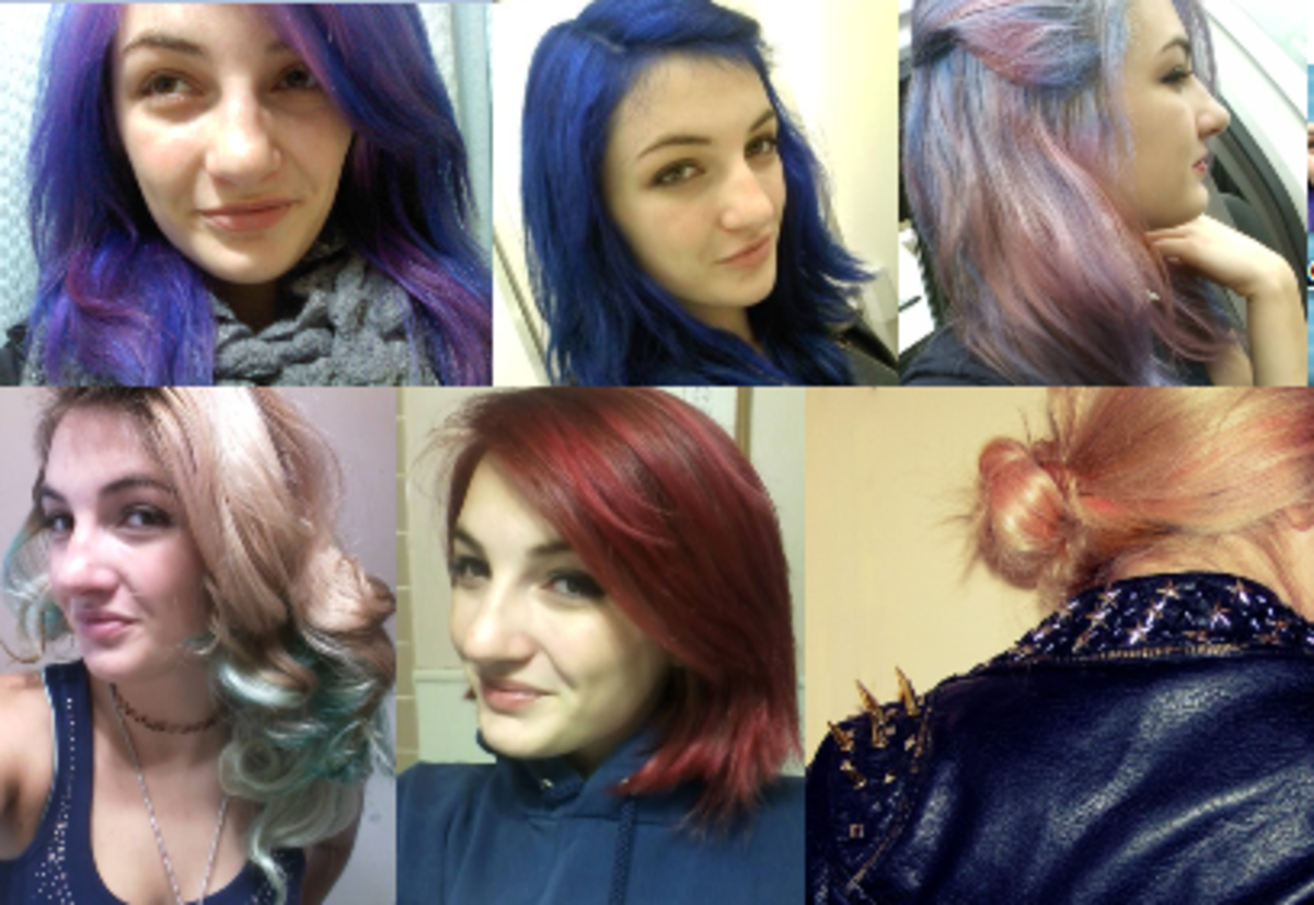 Manic Panic (and RAW) Hair Dye Review