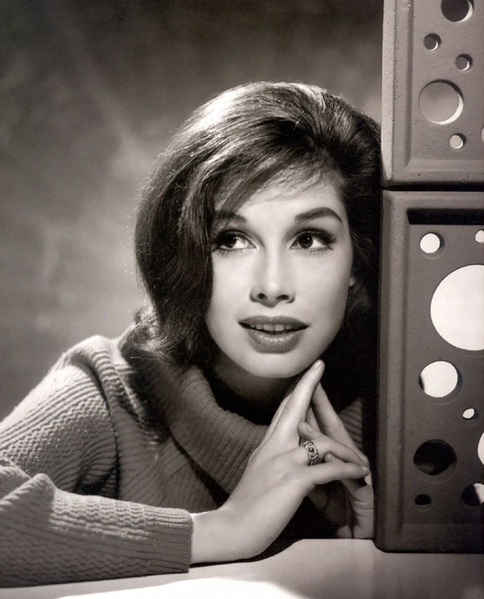 Mary Tyler Moore in the 1960s. She was a cover model.