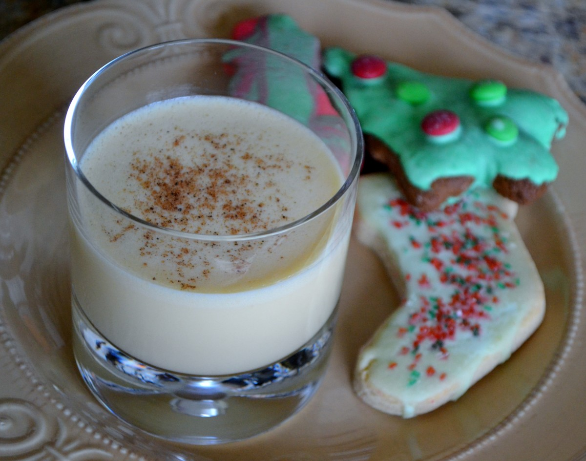 Santa will certainly appreciate it if you leave him  eggnog rather than milk with his cookies.