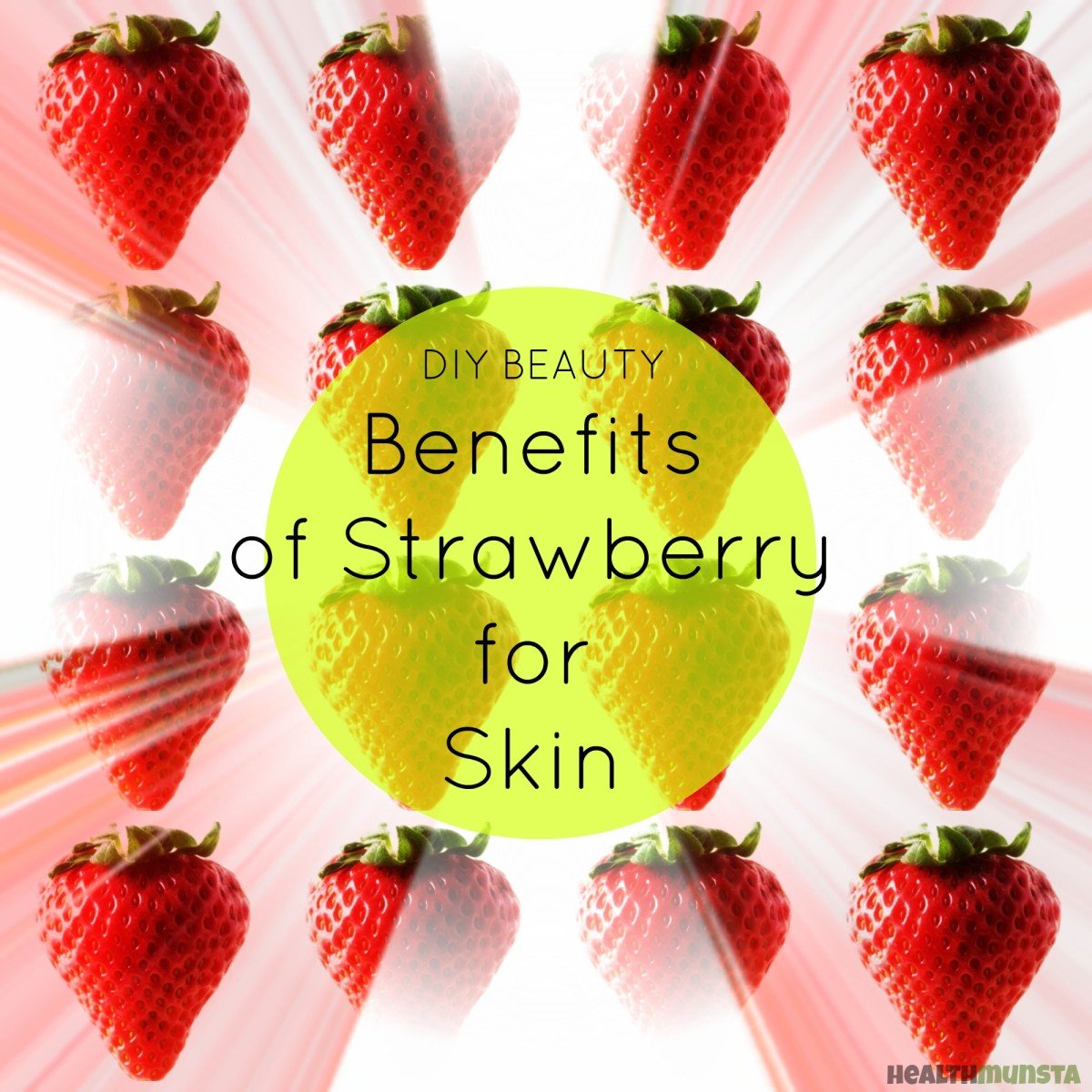 Strawberries are full of key fruit acids, including AHAs that contain amazing beauty benefits for skin.