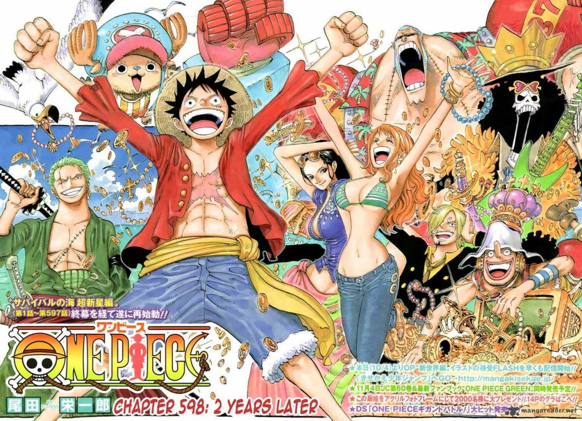Luffy and his crew