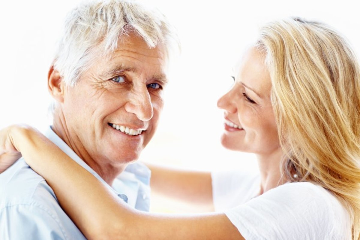 A lot of older men prefer to date younger women and maybe even end up marrying them.