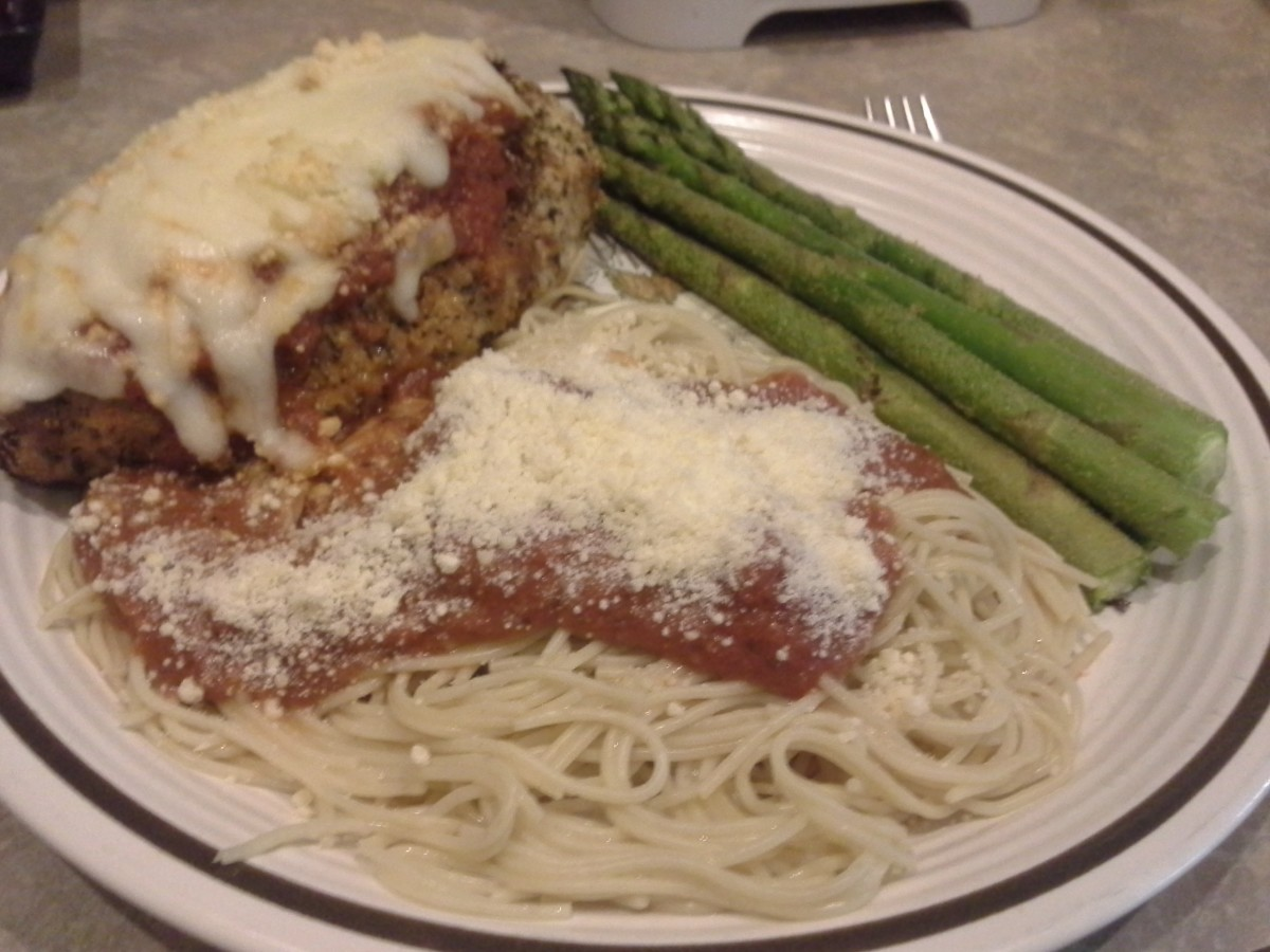 Quick and Easy, Scrumptious Chicken Parmesan