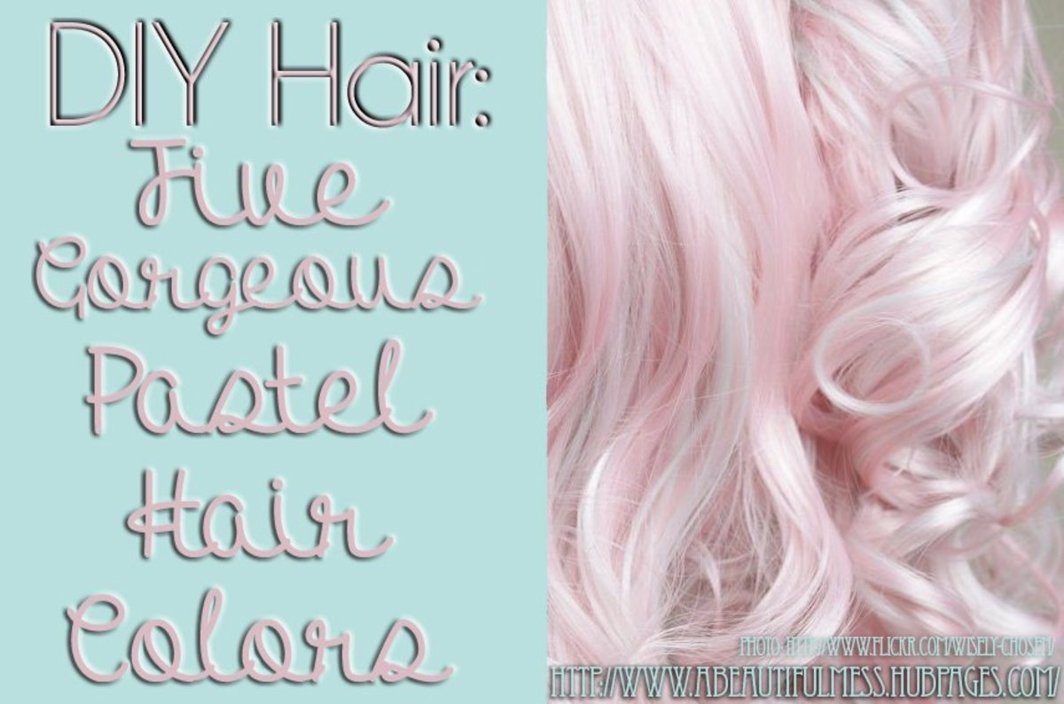 Give yourself gorgeous pastel hair!