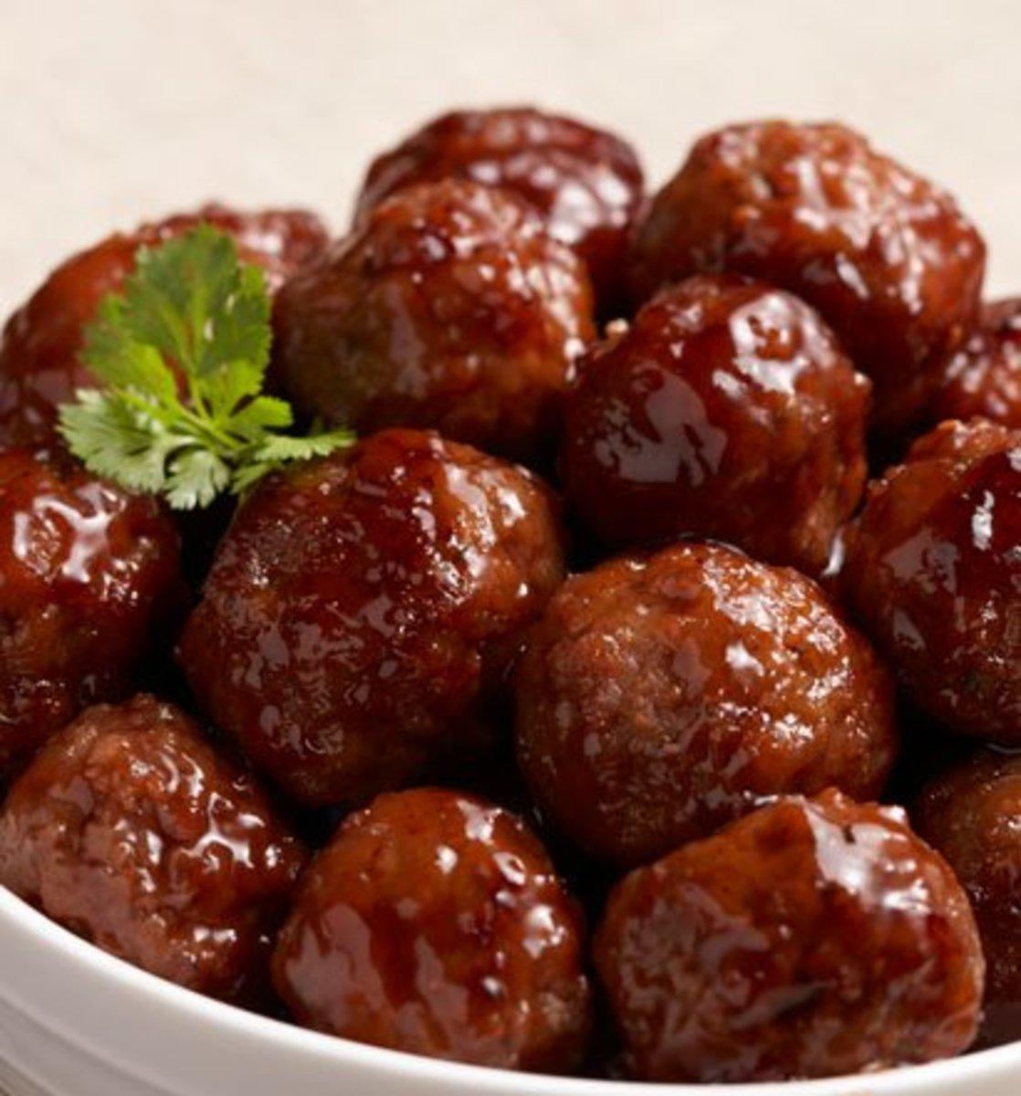 Honey-Garlic Meatballs