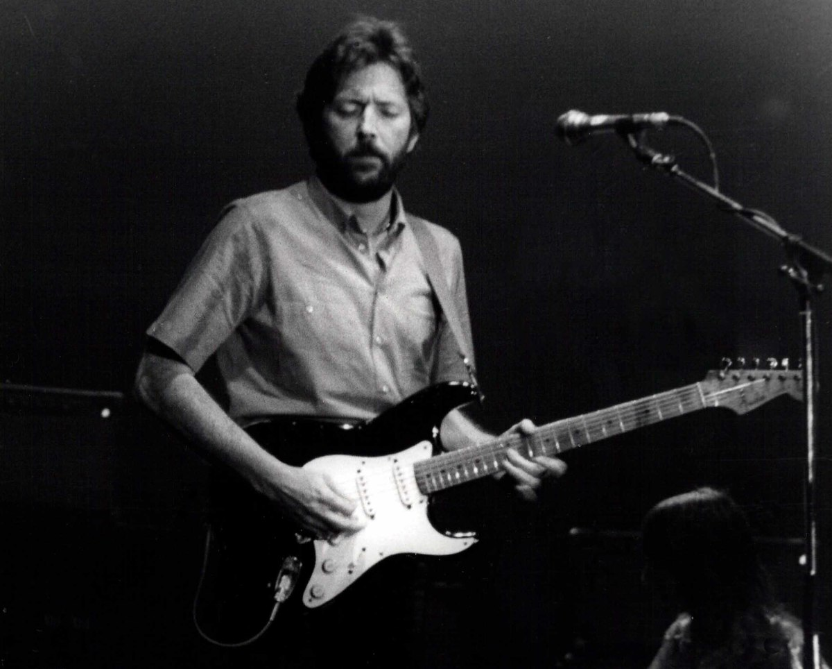 Eric Clapton and his iconic Stratocaster