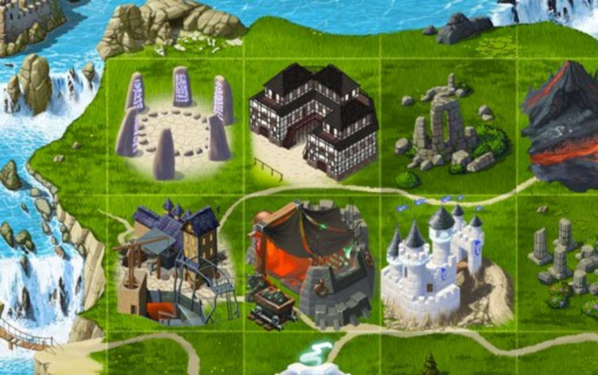 Kingdoms at War (KAW) Guide: Land Costs, Building Costs, and Statistics