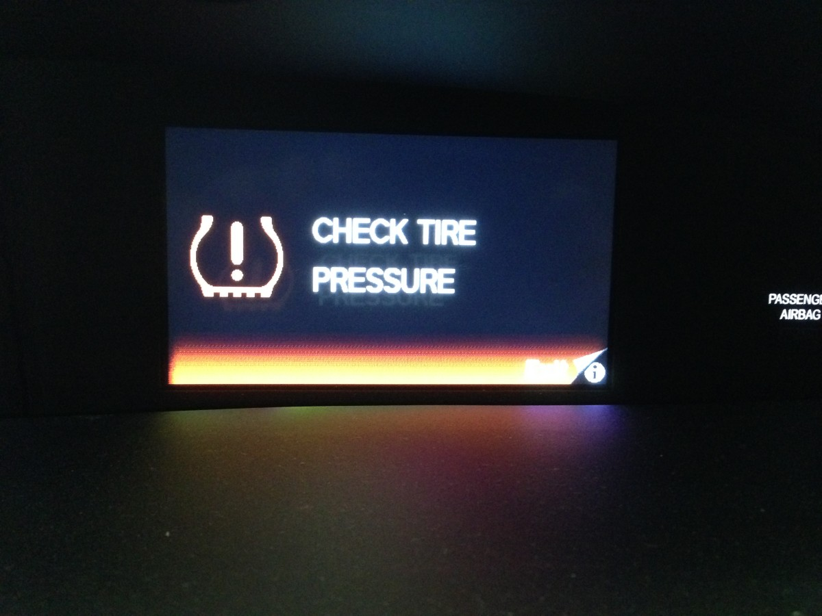 Low Tire Pressure Warning Light Is On