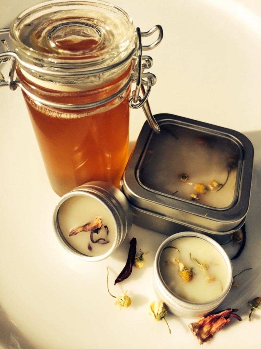 Three Scrumptious Homemade Lip Balm Recipes Made with Beeswax