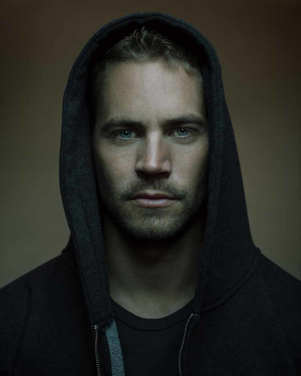 Paul Walker wearing a Hoodie