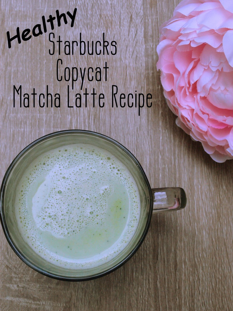 How to Make a Healthy Starbucks Matcha Green Tea Latte