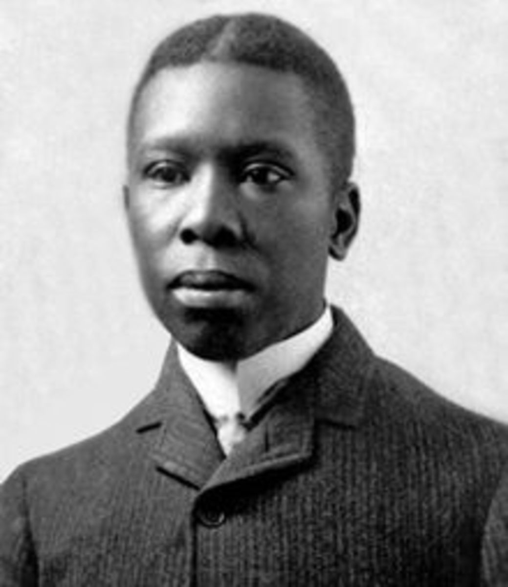 A photo of Paul Laurence Dunbar