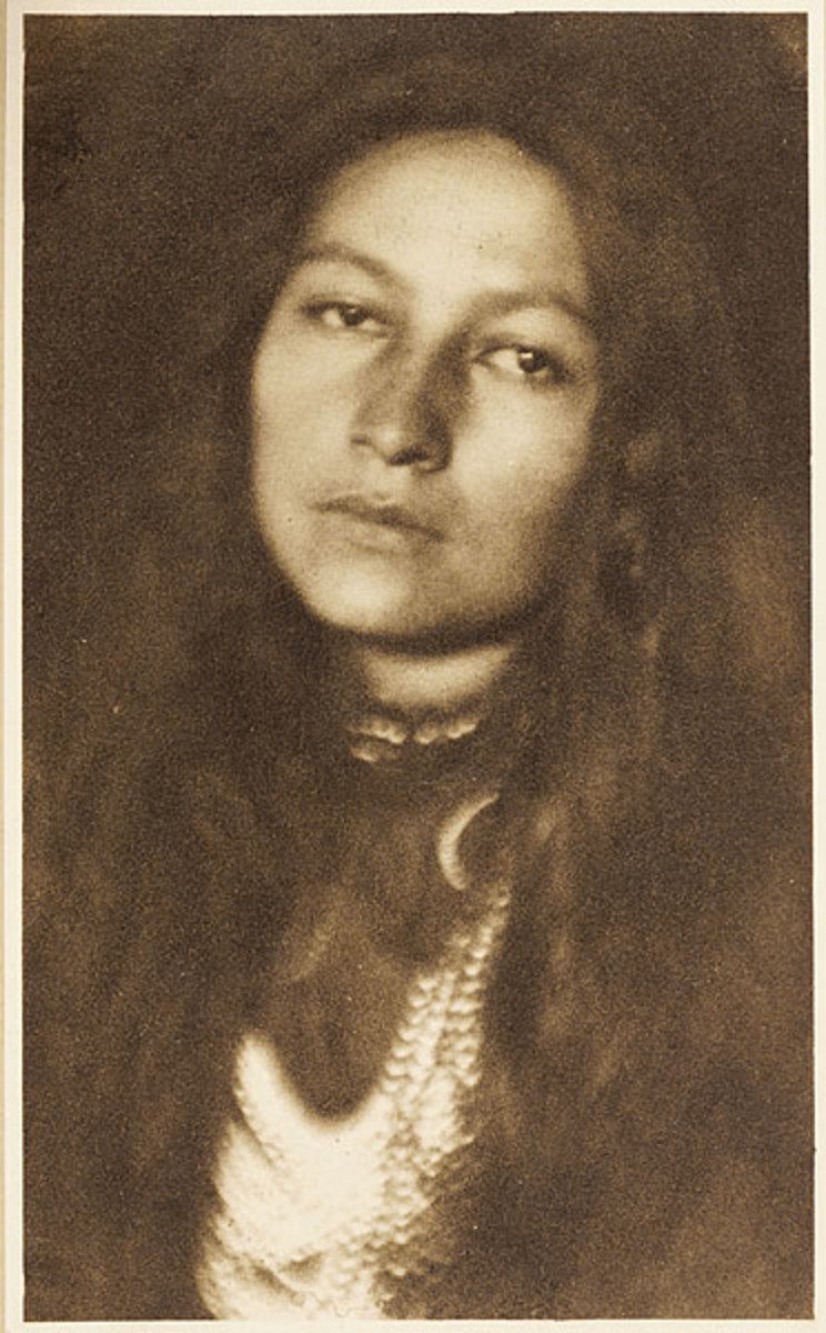 Portrait of Zitkala-Sa
