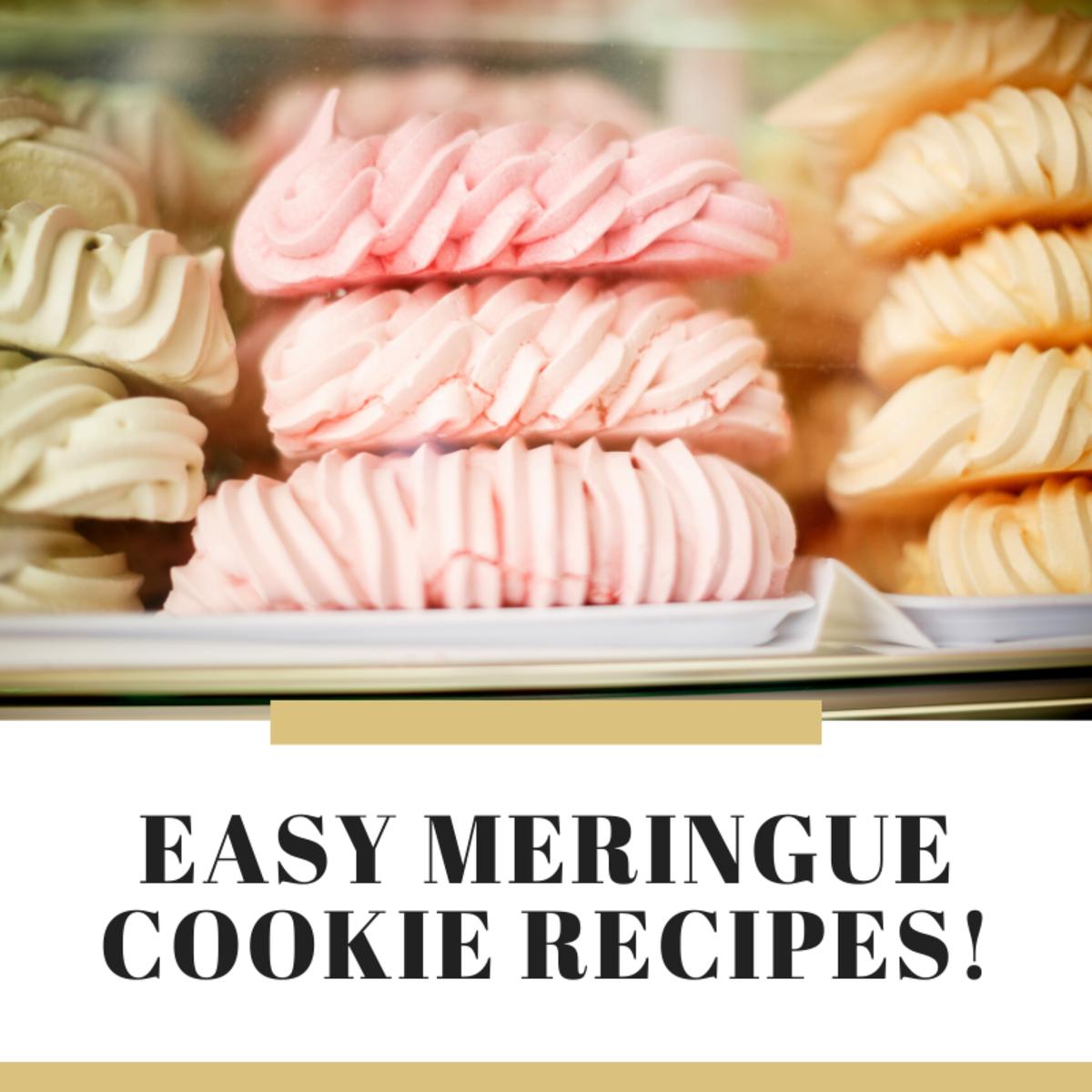 13 Easy Meringue Cookie Recipes