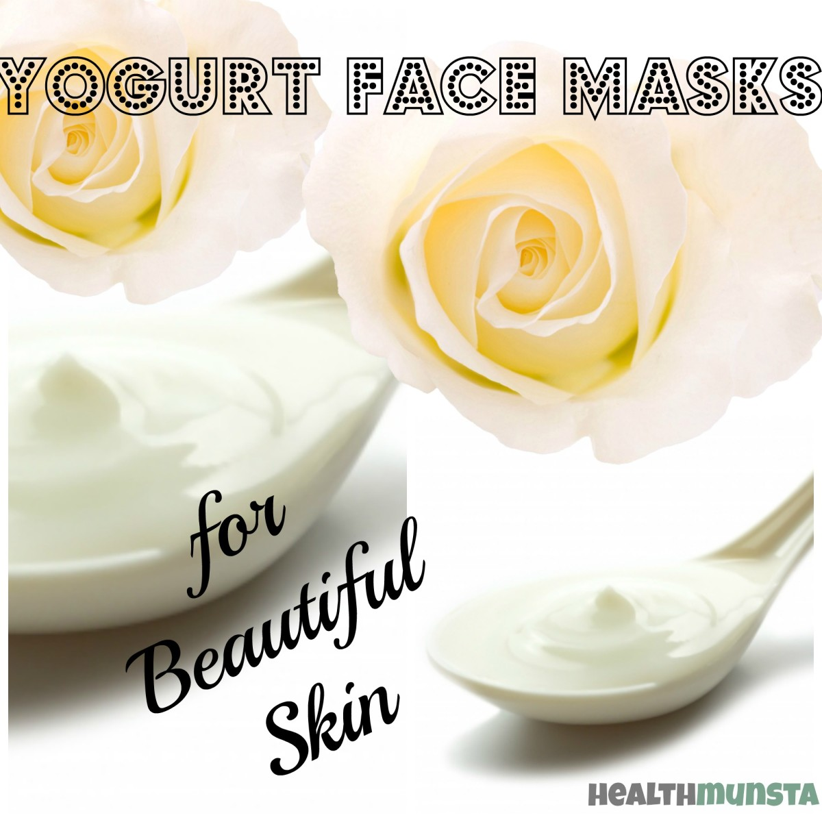 Here are recipes for awesome yogurt face masks to give your skin a natural glow!