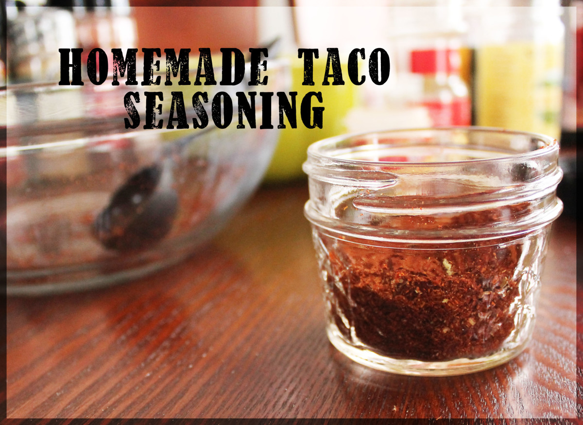 Homemade Taco Seasoning for Beef or Chicken