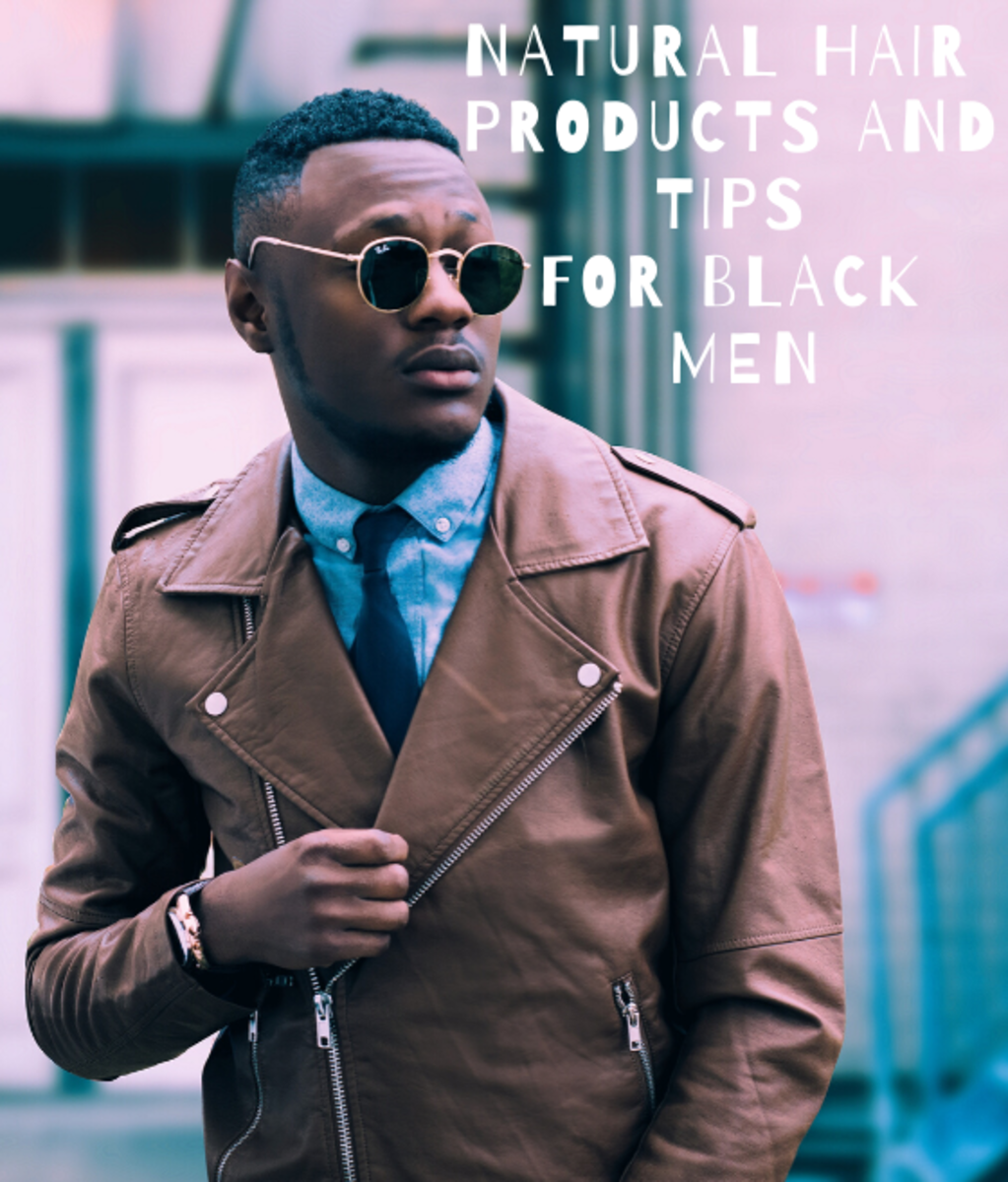 Natural Hair  Products and Tips for Black Men