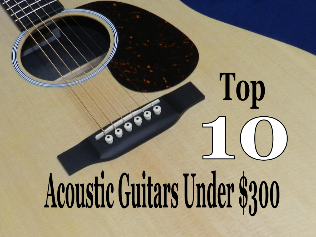 10 Best Acoustic Guitars Under $300 in 2020