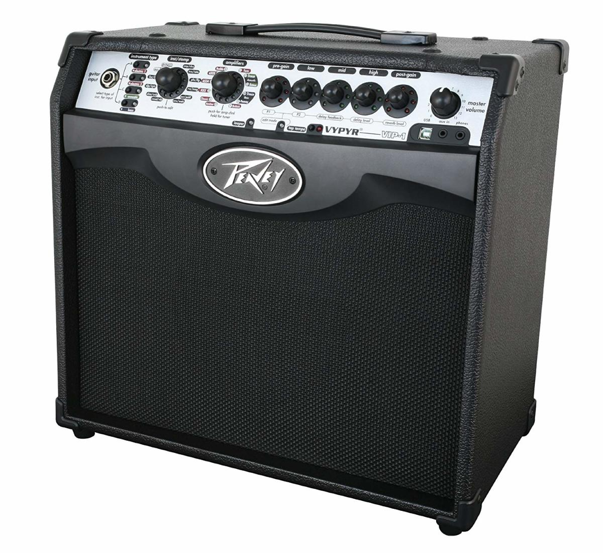 The Peavey Vypyr VIP 1 is one of the best guitar amps under $200