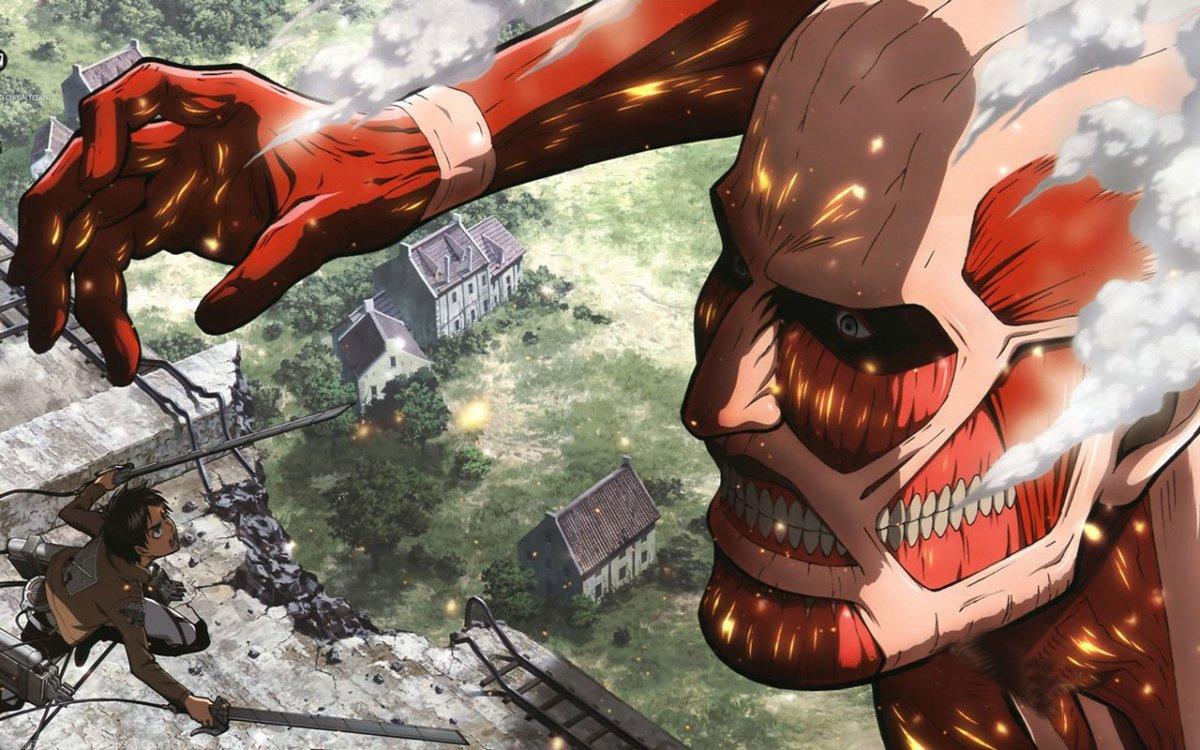 7 Anime Like Shingeki No Kyojin Attack On Titan