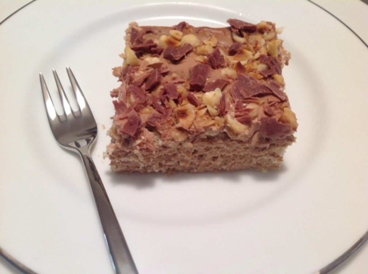 How to Make a No-Cook Gateau Marie (or Coffee Gateau) Dessert