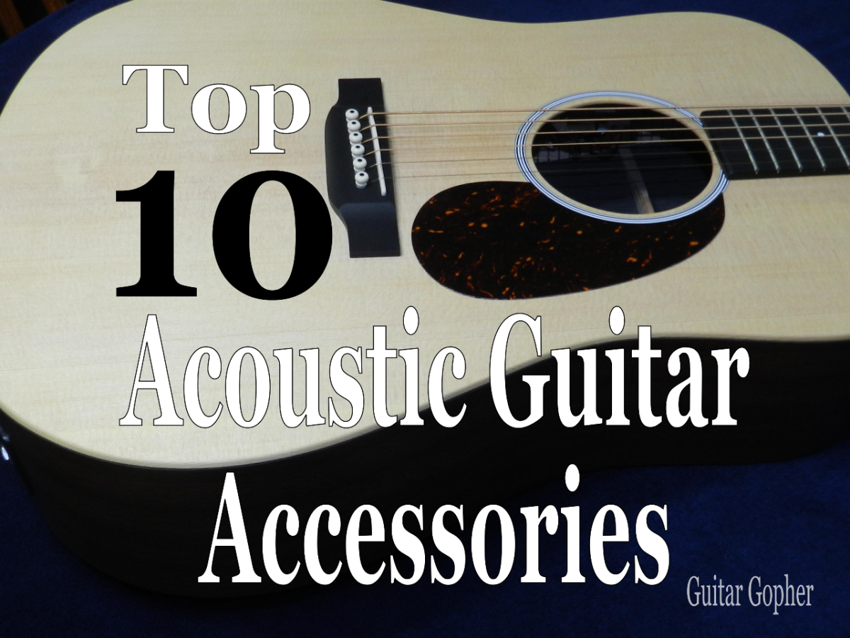 A list of must-have accessories for the beginning acoustic guitar player.