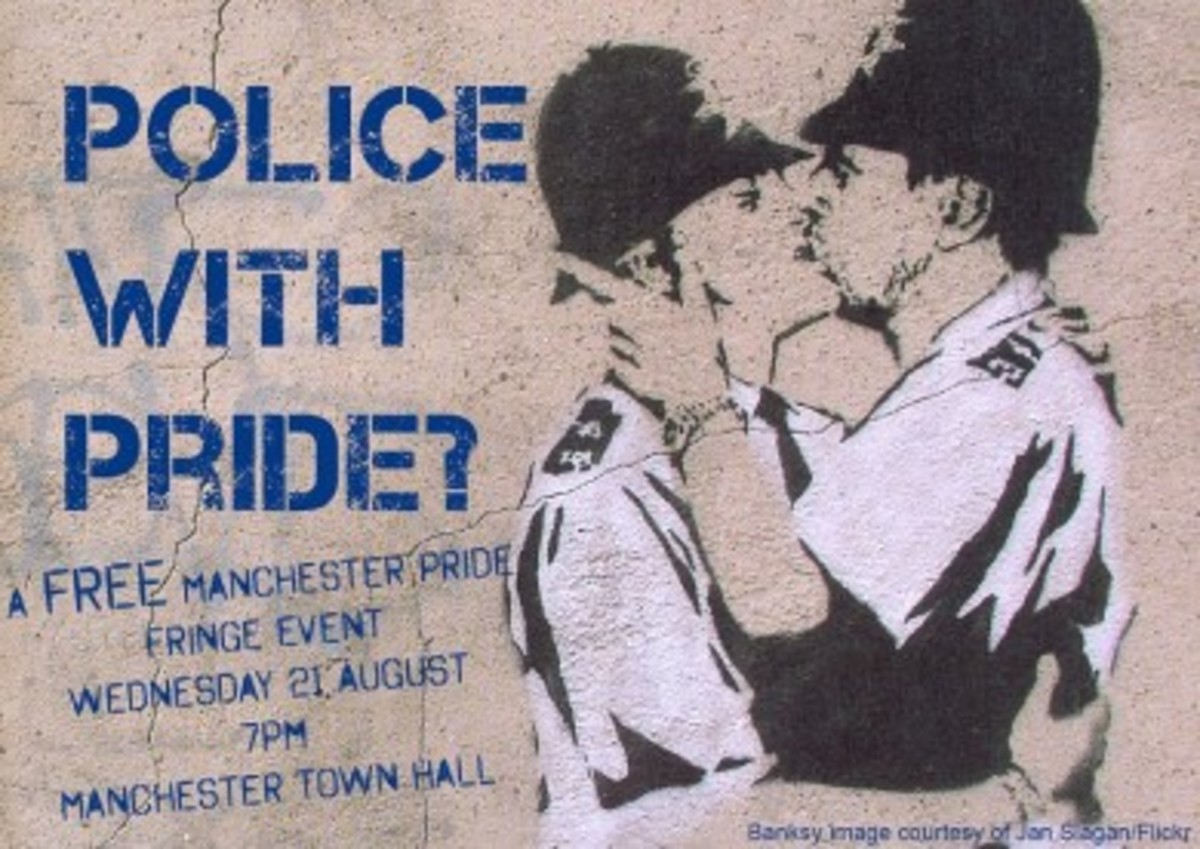 Greater Manchester Police leaflet - Manchester Pride 2013