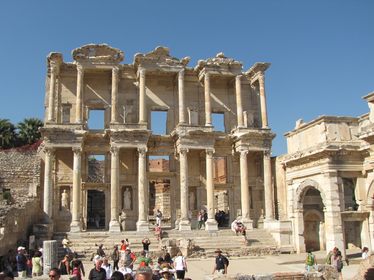 Visiting Ancient Ephesus, Turkey