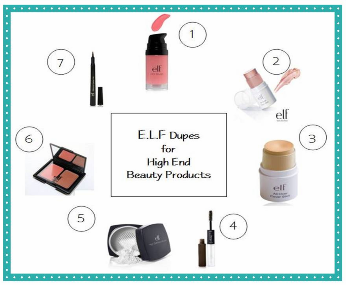 Best E.L.F. Cosmetics: 7 Dupes for High End & Brand Name Makeup Products