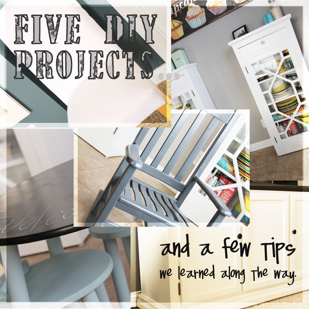 Five DIY Project Ideas for Refinishing Used Furniture