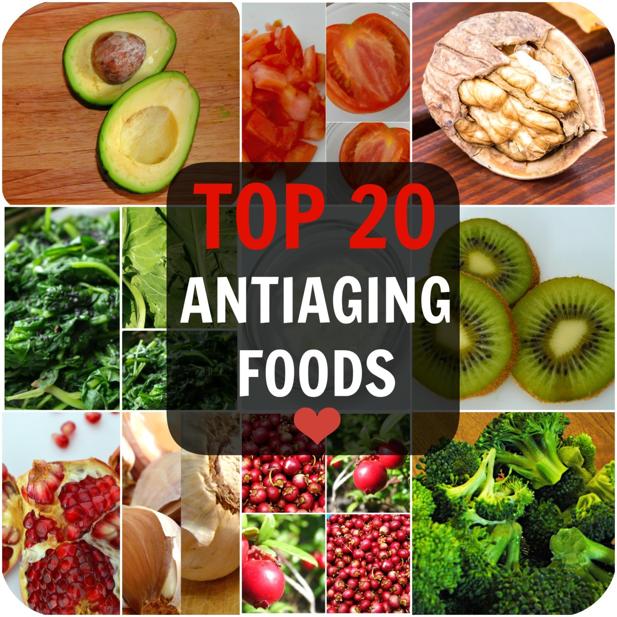 20 Superfoods to Fight Aging