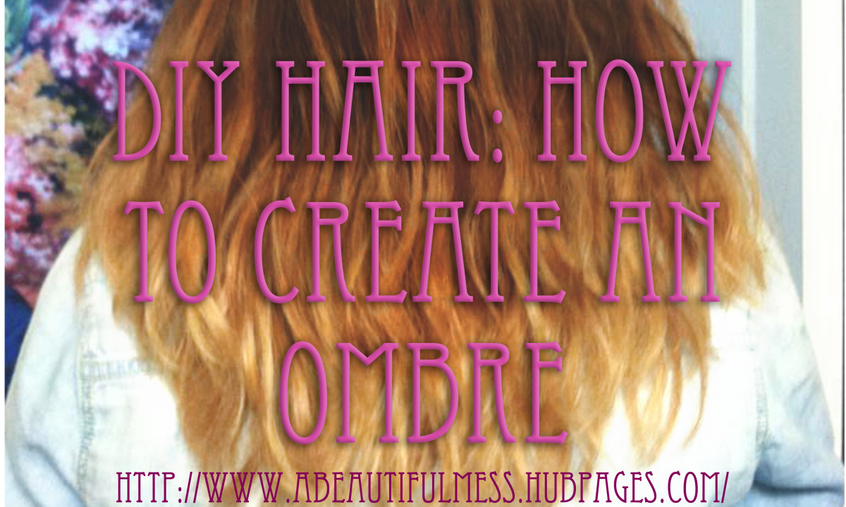 DIY Hair: How to Bleach an Ombre