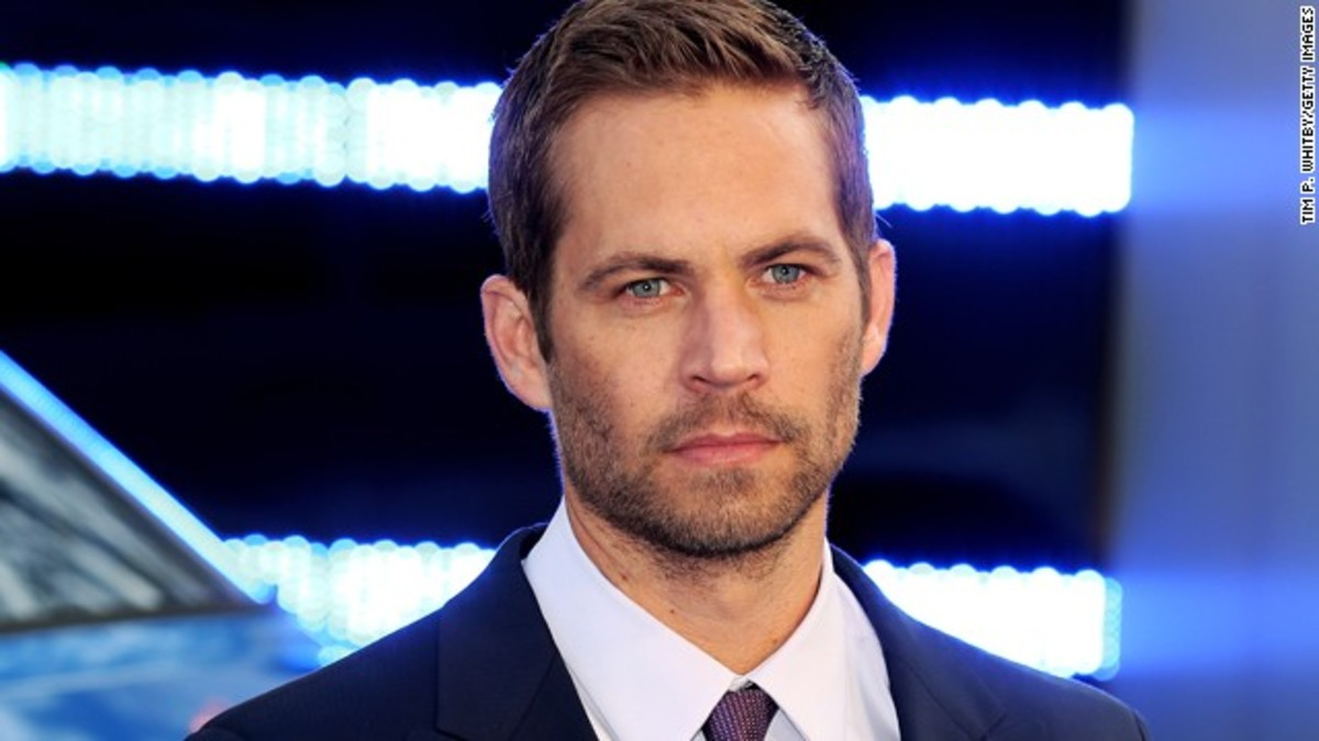 Paul Walker, Actor, best known for the Fast & Furious movies