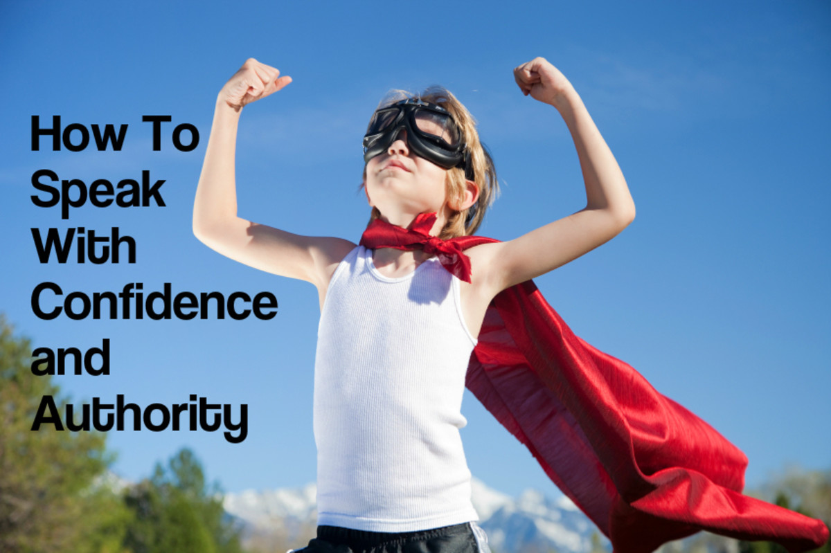 How to Speak With Confidence and Authority