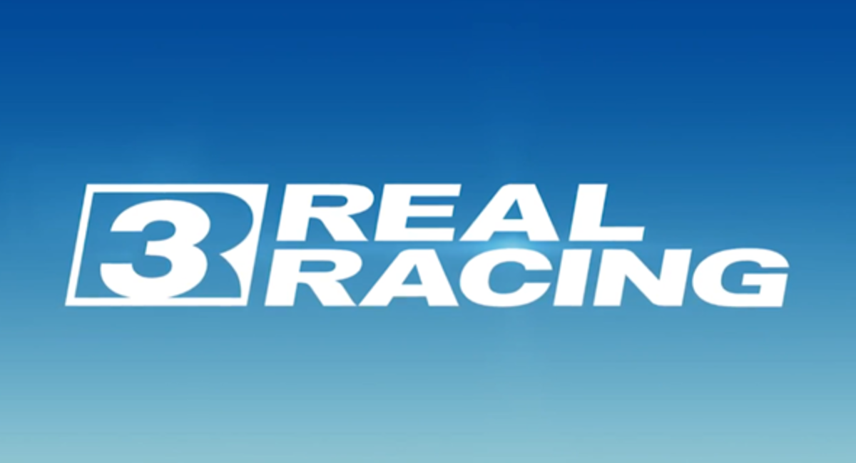 Real Racing 3 Logo, courtesy of Electronic Arts and Firemonkey