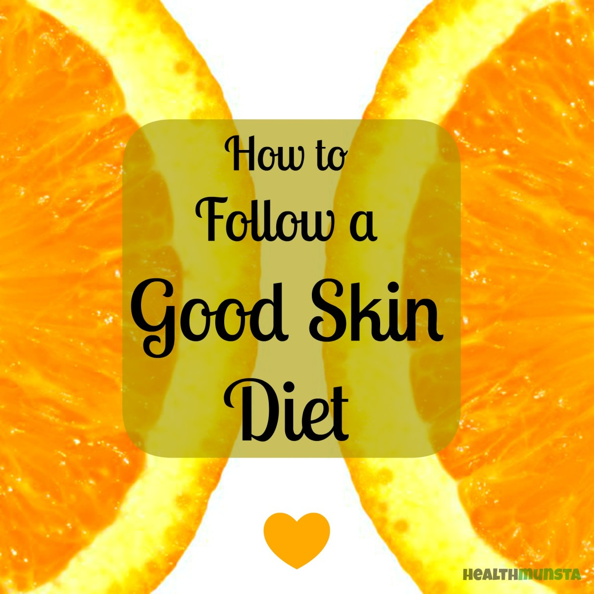 Go on a diet - this time not for your flabs, but for your skin!