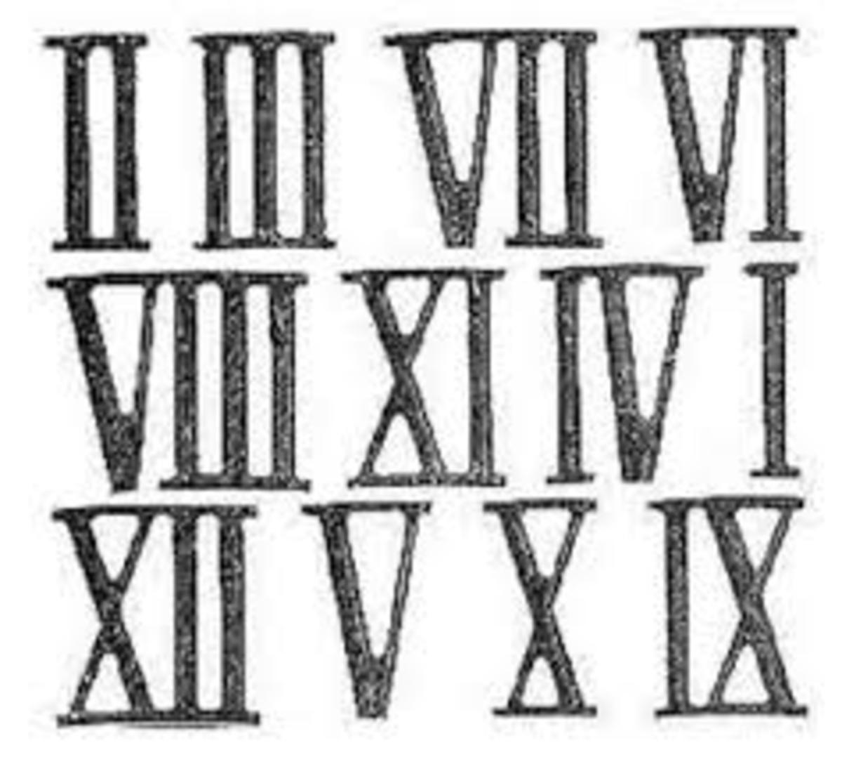 How To Understand Roman Numerals