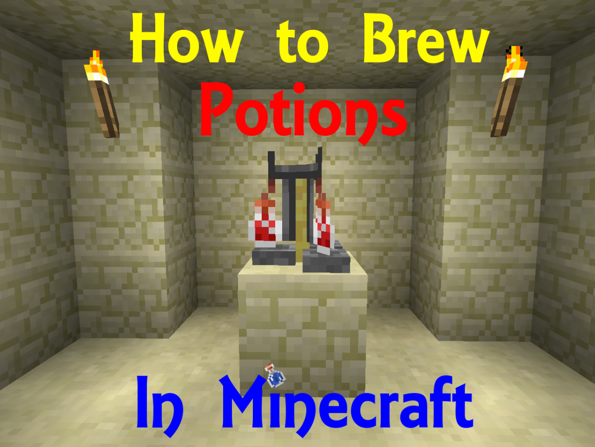 Minecraft Papercraft Potions Brew Potions in Minecraft