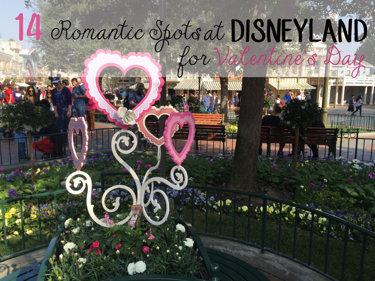 14 Romantic Spots at Disneyland for Valentine's Day.