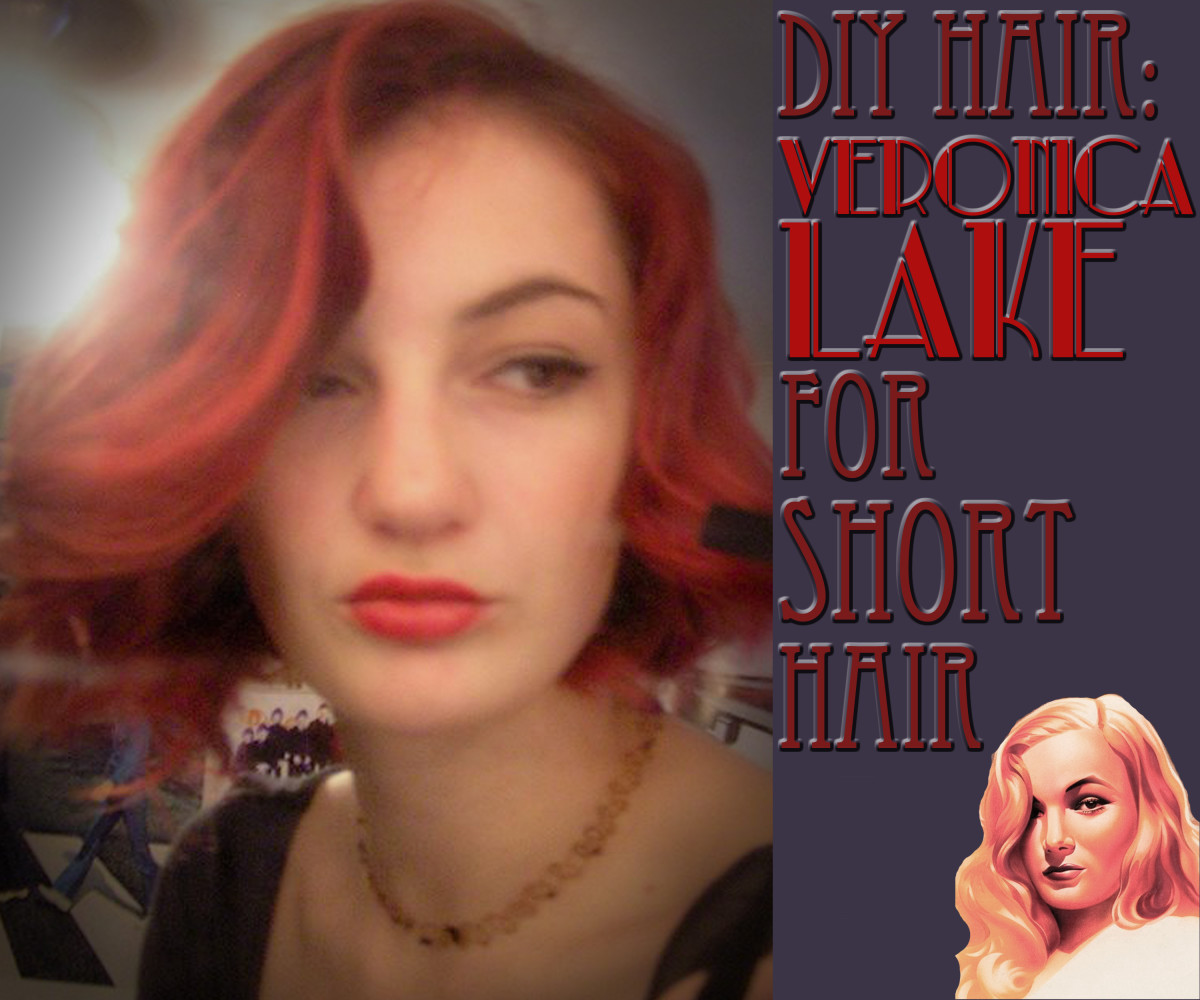 DIY Hair: Veronica Lake Hairstyle for Short Hair
