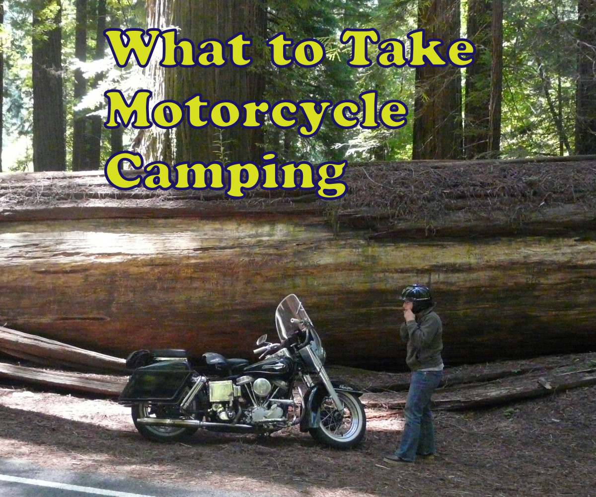 Motorcycle Camping - What to Take