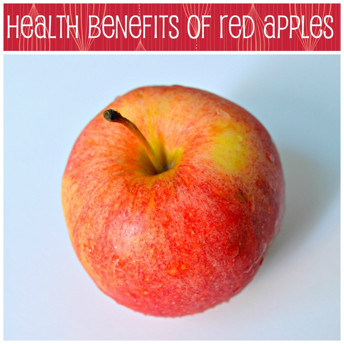 health benefits of red apples caloriebee