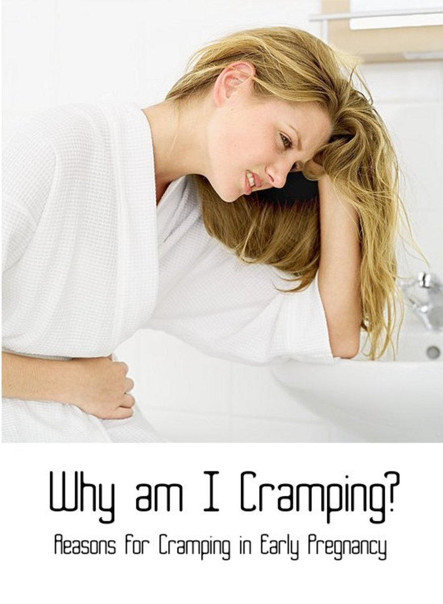Early pregnancy cramping discharge