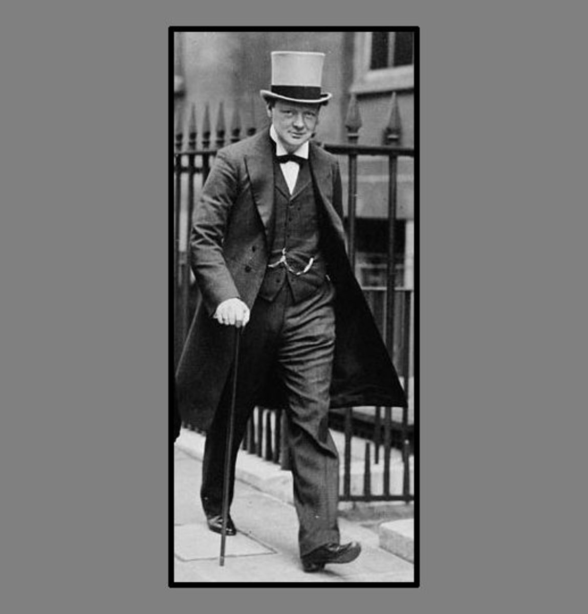"""World War One: Winston Spencer Churchill in 1911, a few months after he wrote """"Military Aspects of the Continental Problem"""" and had become First Lord of the Admiralty."""